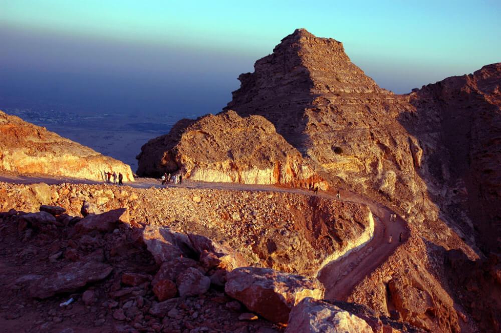Berg Jebel Hafeet bei Al Ain