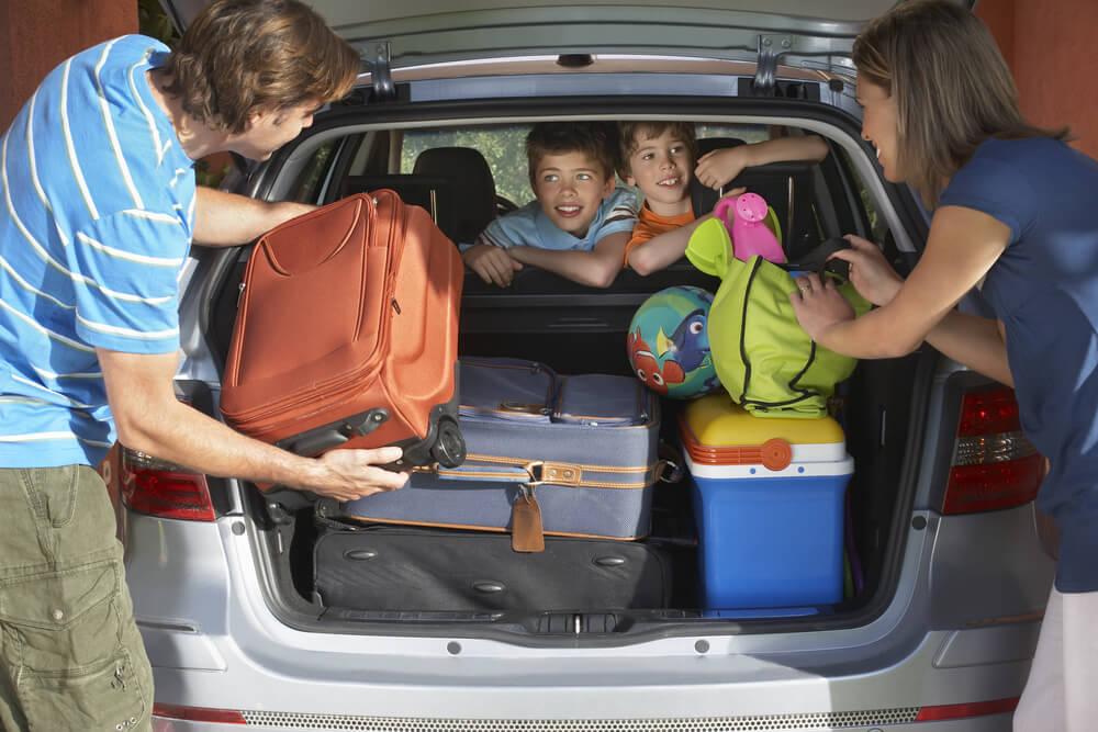 Im Familienauto wird oft Stauraum benötigt