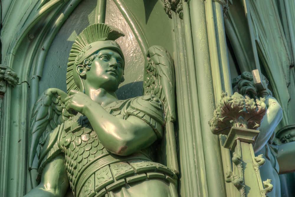 Das Nationaldenkmal an die Schlachten der Befreiungskriege gegen Napoleon