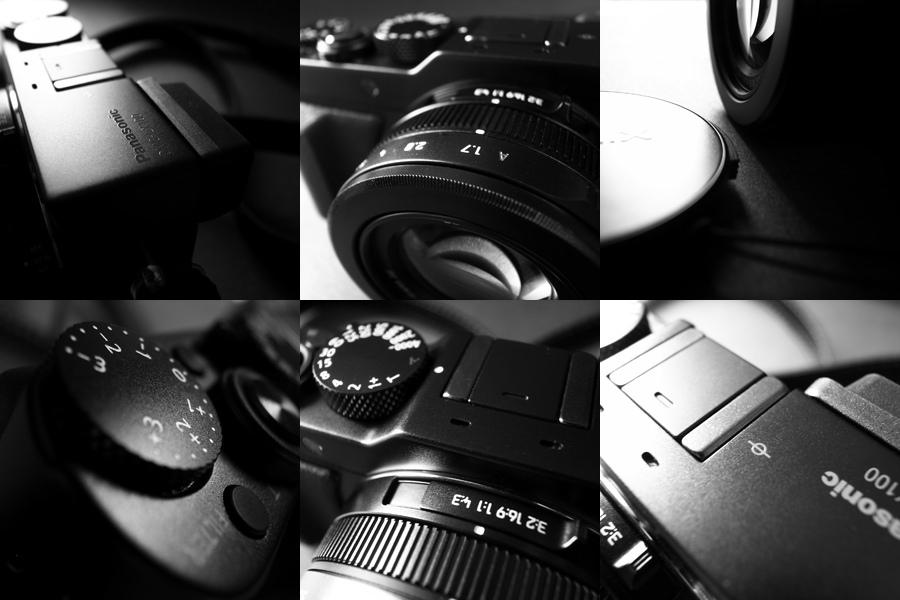 Detailaufnahmen der Panasonic Lumix LX100