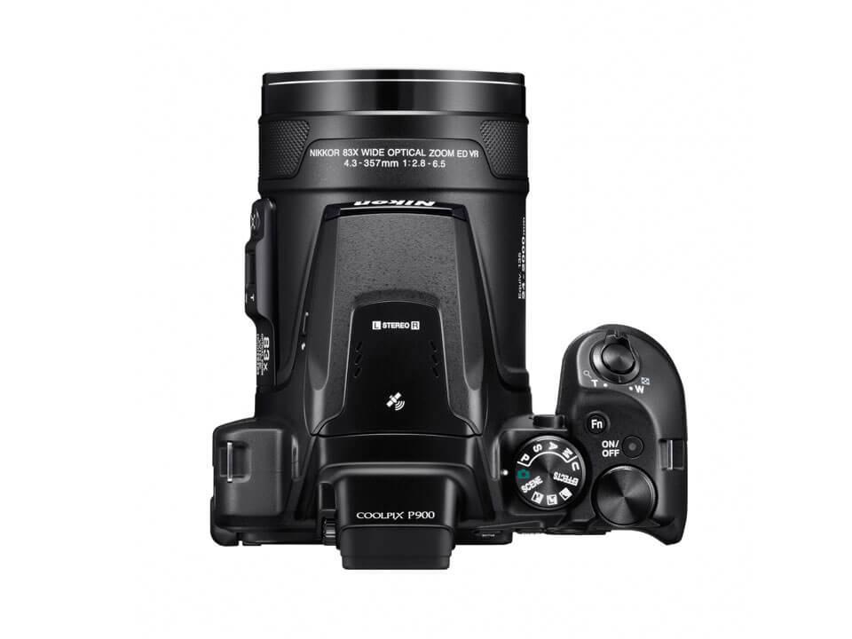 Die Nikon Coolpix P900 mit integriertem Wi-Fi