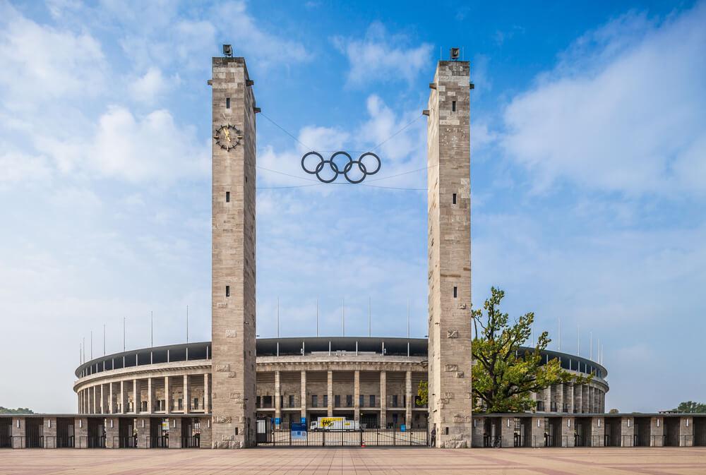 Das Berliner Olympiastadion.