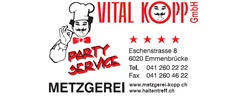 Vital Kopp Party-Service – Ihr professioneller, verlässlicher Partner